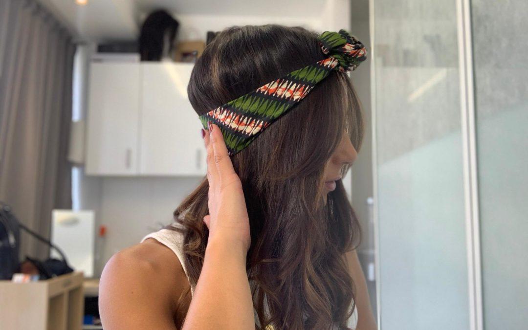 Tuto | foulard | noeud rond devant, style bohème
